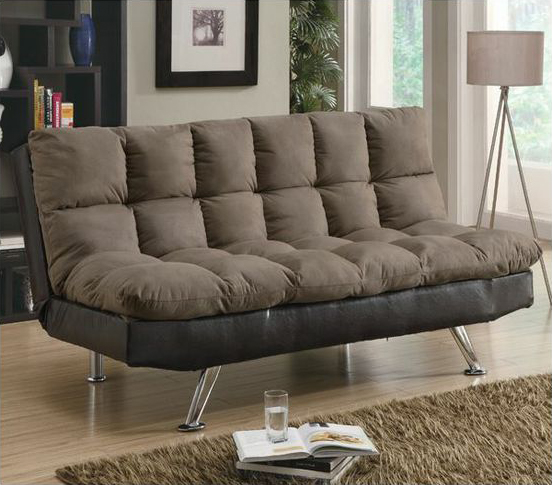 Plush Futon couch ITCHBAN.com