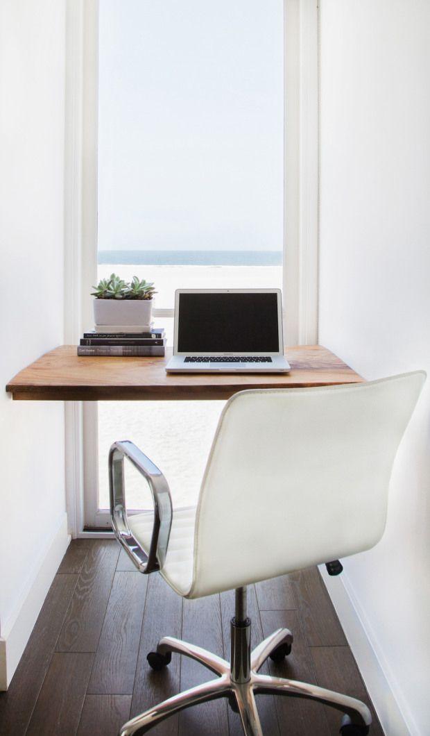 Narrow Windowed Work Space ITCHBAN.com.
