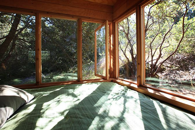 Nature Glass Wall Home ITCHBAN.com.