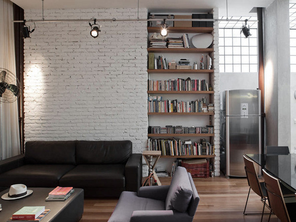 Loft styled apartment ITCHBAN.com