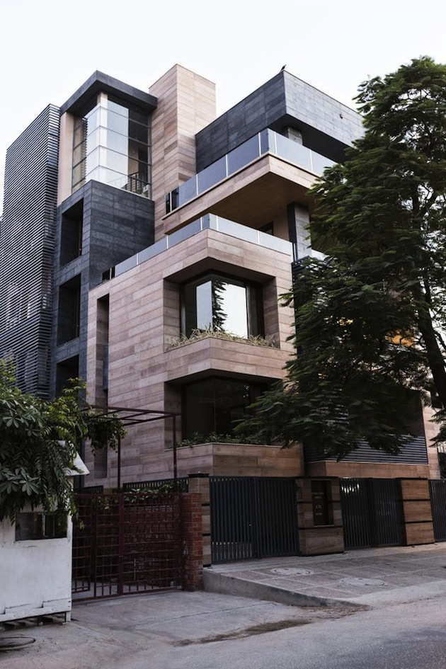 Modern cube styled house ITCHBAN.com
