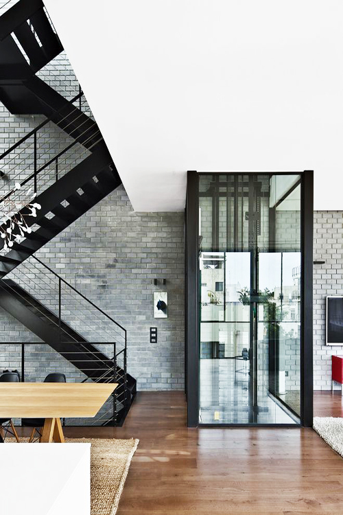 Multistorey house with lift and stairs ITCHBAN.com