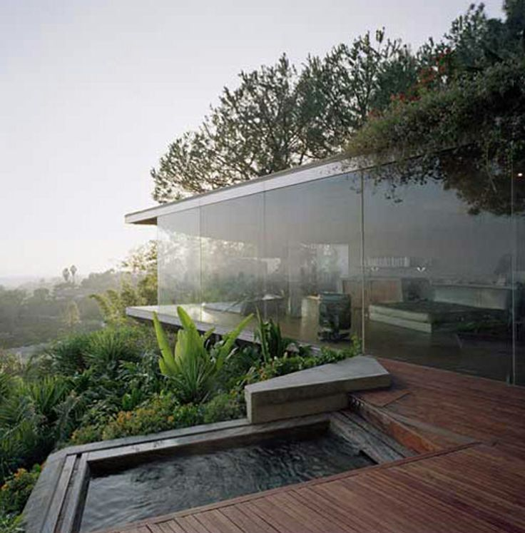 Outdoor Swimming pool Modern house ITCHBAN.com
