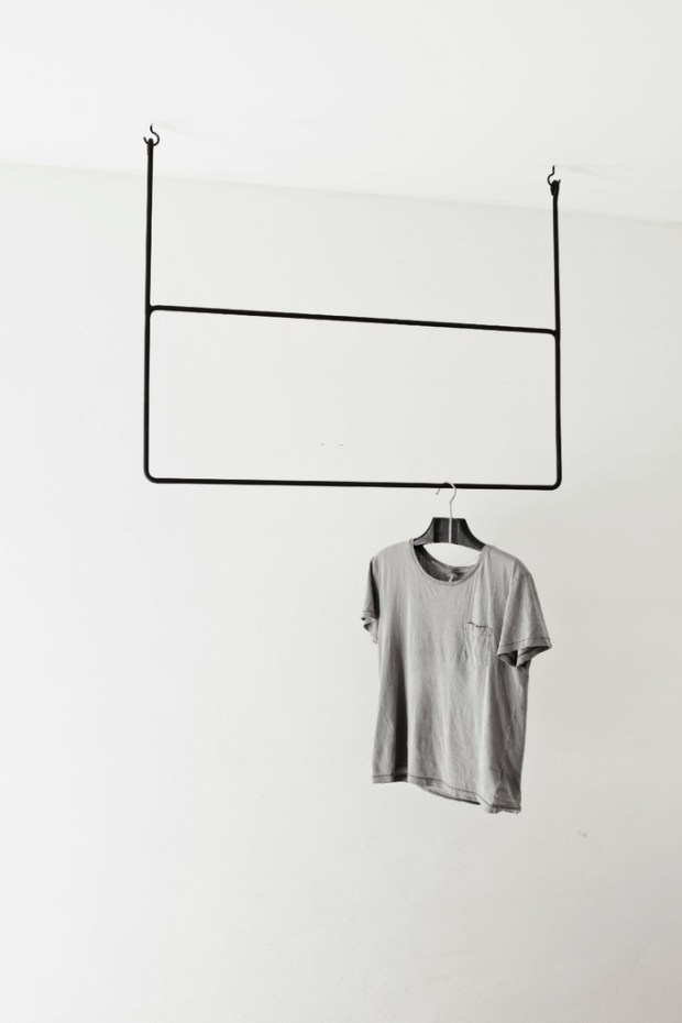 Ceiling mounted clothes rack ITCHBAN.com