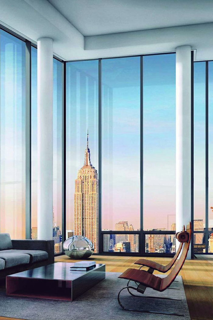 High Rise New York Apartment with view of empire state bulding ITCHBAN.com