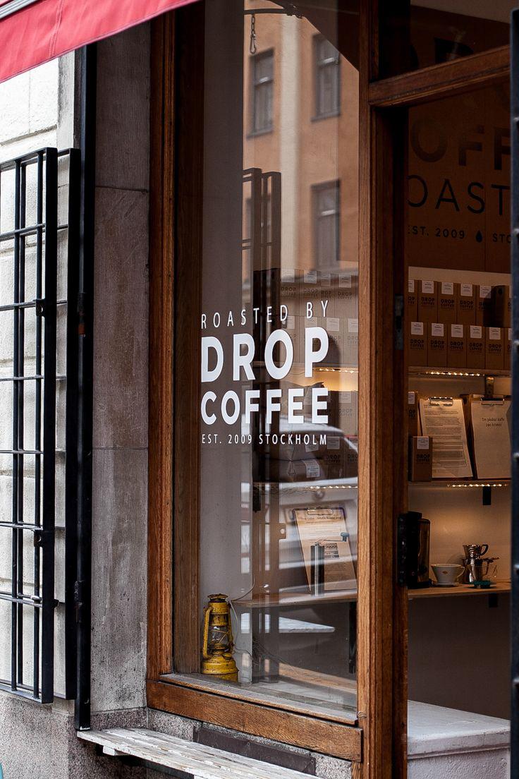 Coffee shop store front design ITCHBAN.com