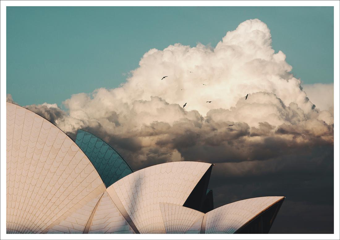 Sydney Opera House ITCHBAN print