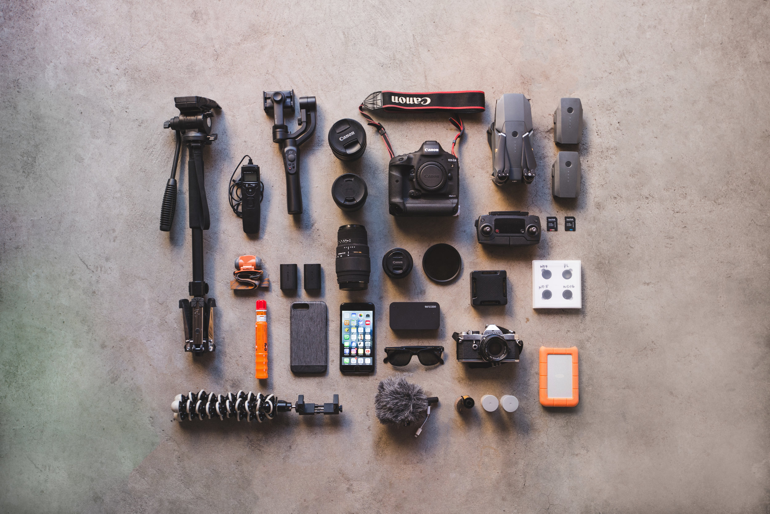 What I shoot with Gear Update @itchban