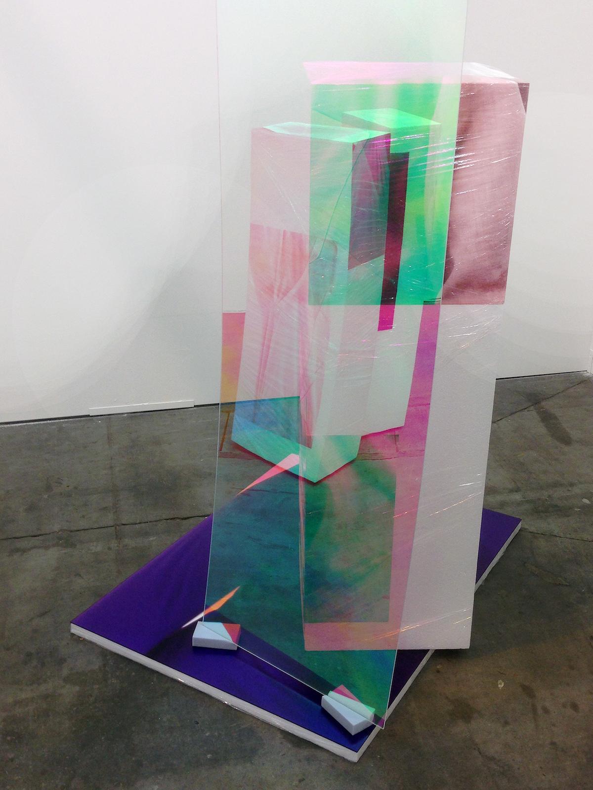 Sweaty Sculpture (back)  at BoetzelaerINispen at Art Bruxelles 2015