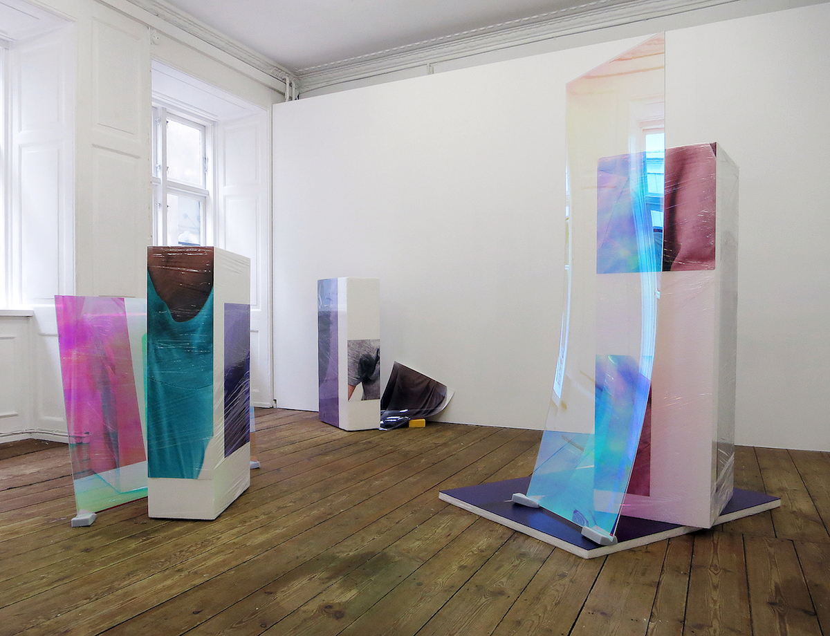 Sweaty Sculptures, solo show at Green Is Gold, Copenhagen during Copenhagen Art Week 2015