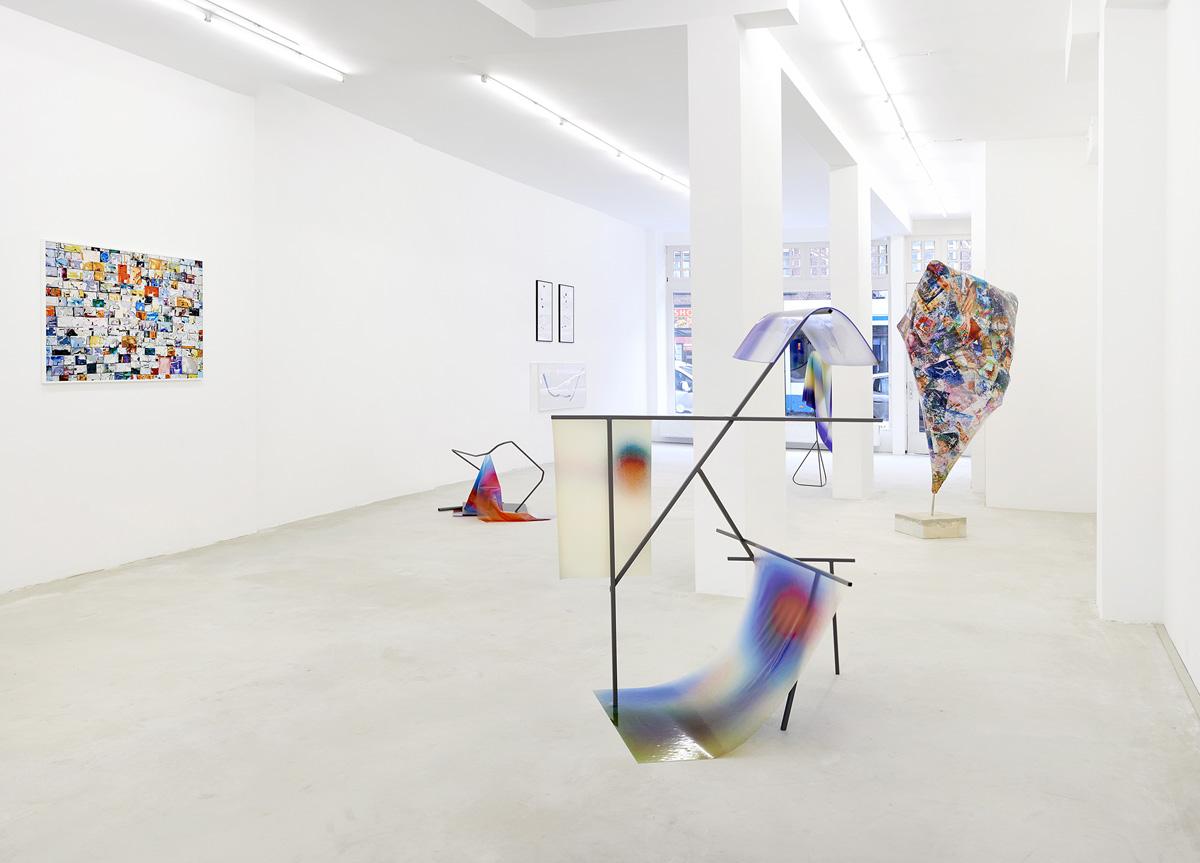 solo exhibition #EVIDENCE at gallery BoetzelaerINispen Amsterdam (docu photos Pim Top)
