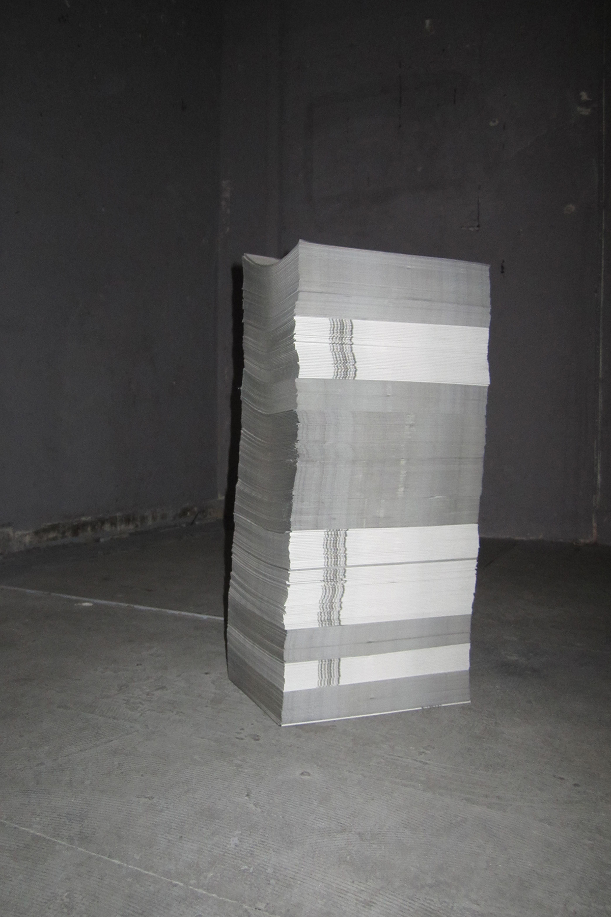 pile of newspapers, 2010