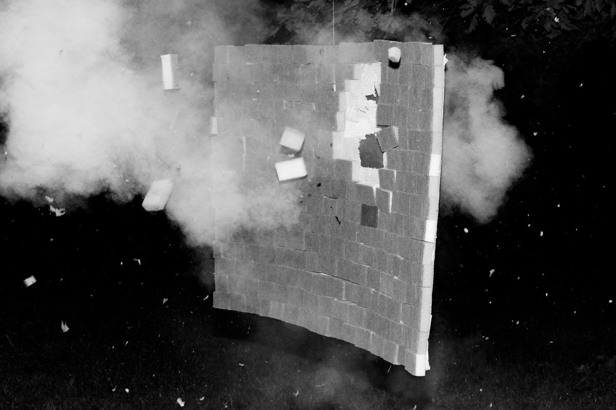 Der Ausbruch einer Flexiblen Wand (weich)