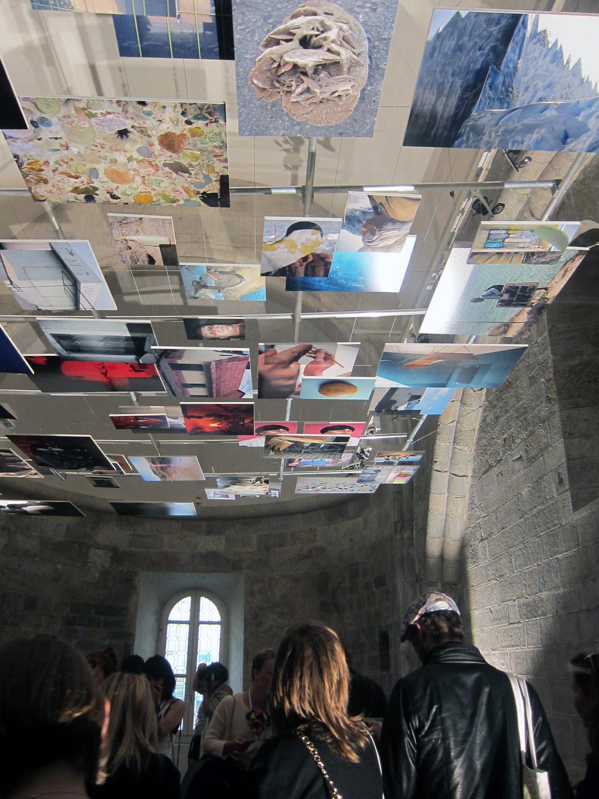 solo exhibition at Tour les Templiers during Hyeres festival de mode et photographie in Hyeres France