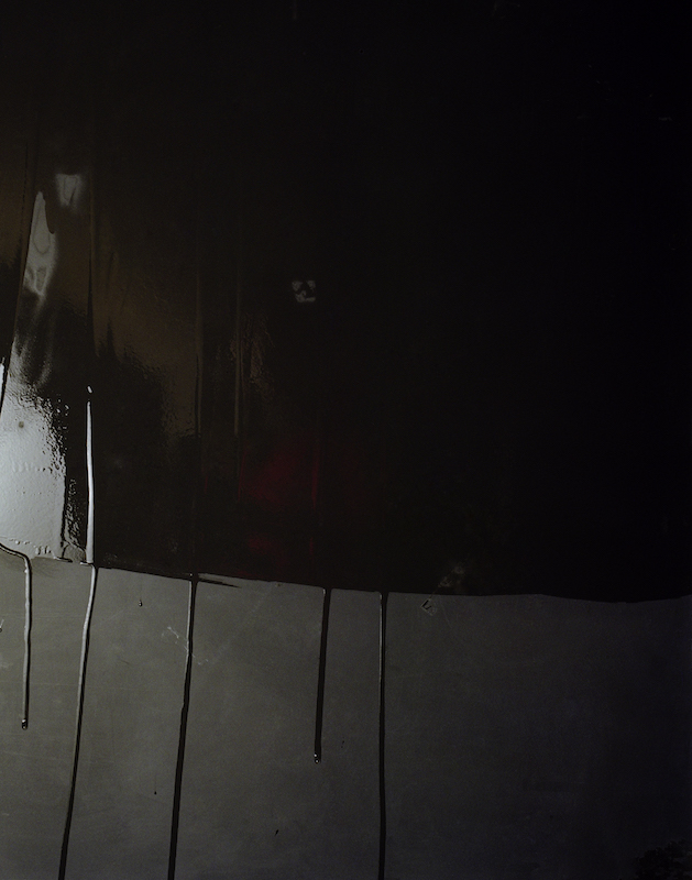 Crying Blackboards #2, 2007 lightjetprint on dibond with alu-profile