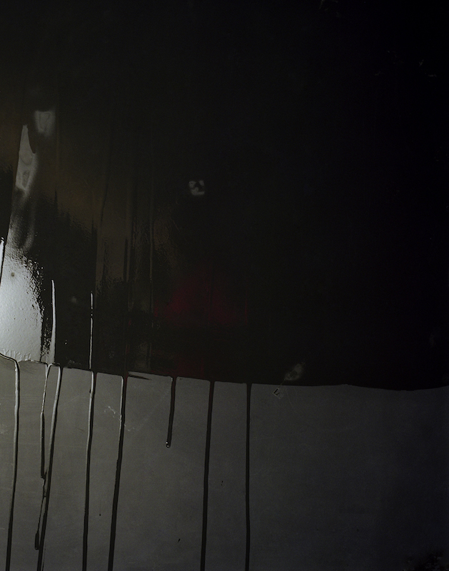 Crying Blackboards #3, 2007 lightjetprint on dibond with alu-profile