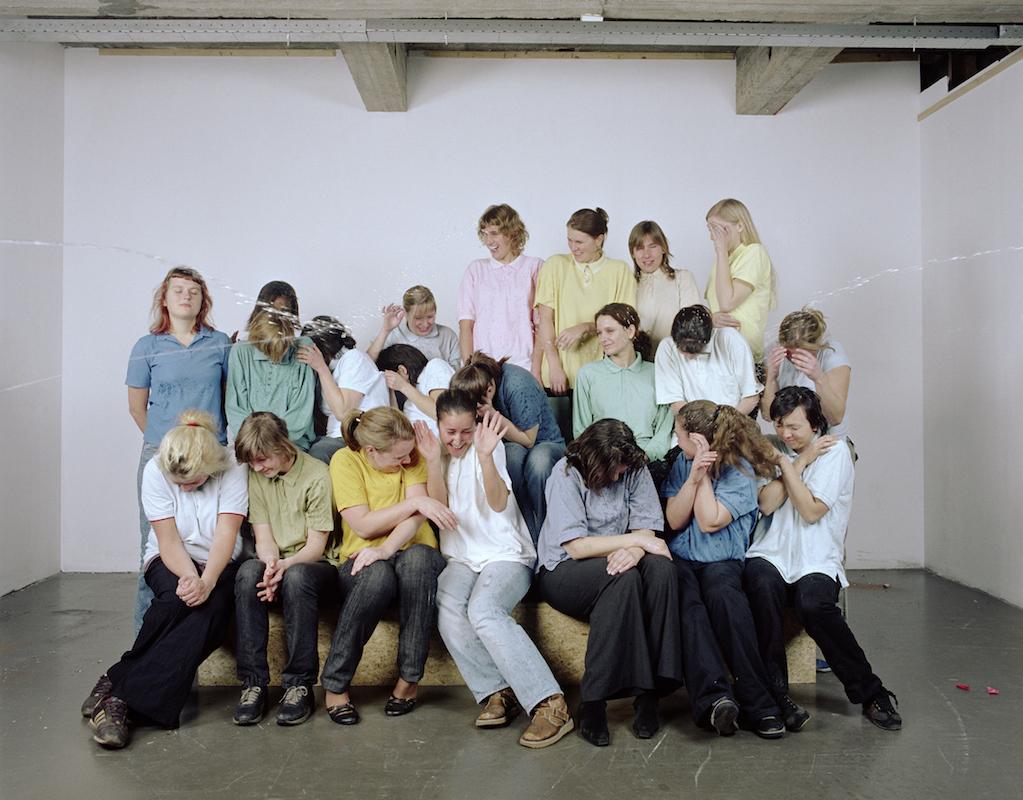 Group-portrait in polo's (women) 2007