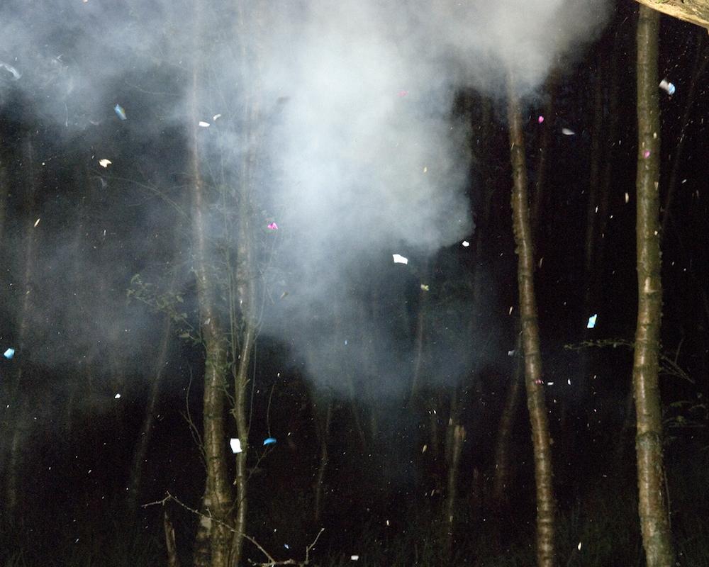 HARMLESS EXPLOSIONS #2, 2007 diptych, lightjet prints 40-50 cm