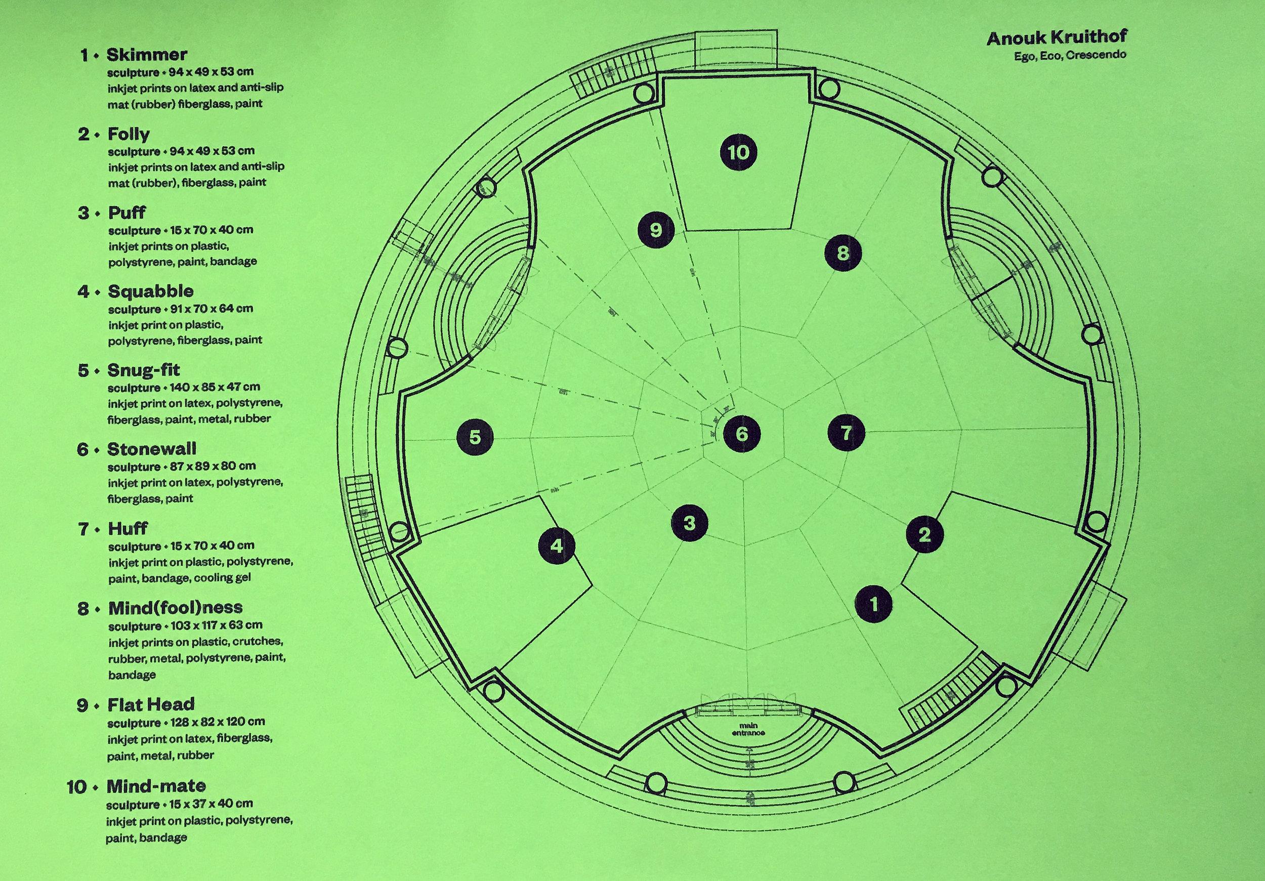 map, EGO, ECO, CRESCENDO, part of Organ Vida Festival, The French Pavillion, Zagreb Croatia