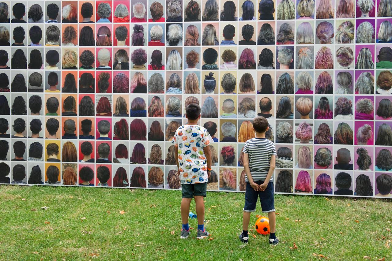 AHEAD @ FAÇADE , open-air art festival, Middelburg (2017)