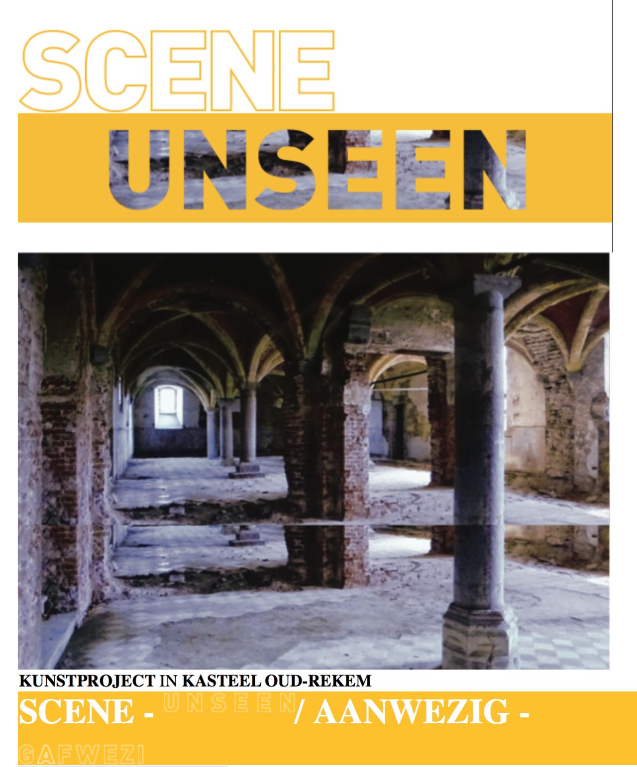 groupshow  SCENE/UNSEEN  atKasteel d'Aspremont-Lynden, Groenplaats 1 - 3621 Oud-Rekem, the Netherlands.  15 JULI - 30 SEPTEMBER 2018  with artists: Marina Abramovic (RS/NYC) | Joseph Maria Best (DE) | Guy Bleus (BE) | Sander Breure (NL) & Witte Van Hulzen (NL) | Imran Channa (PK) |cIndrikis Gelzis (LV) | Jef Geys (BE) Jos Jans (BE) | Kasper König (NL) Basir Mahmood (PK) | Keetje Mans (NL) | Marie-Jose Martens (BE) | Oleg Matrokhin (RU) | Marek Adam Olszynski (PL) | Hyesoo Park (KR) | Charlotte Schleiffert (NL) | Stefan Seelge (DE) | Jessica Segall (NY) Toon Tersas (BE) | Bob Thissen (NL) & Toon Loenders (BE) | Greet Van Autgaerden (BE) | Chaim Van Luit (NL) Sharon Van Overmeiren (BE) | Wim Wauman (BE) | Guido Yannitto (AR)  Interactiemetkunstenaars 'DEAPPEL' en 'AGORA' 1975-1985:  Marina Abramovic/Ulay | Bend'Armagnac | Barbara Bloom Gerrit Dekker | Herve Fischer | Hetty Huisman | Servie Janssen | Sef Peeters | Lydia Schouten  Curatoren: Annemie Van Laethem | Erik Croux | Mat Verberkt. (ForumTriangulare)