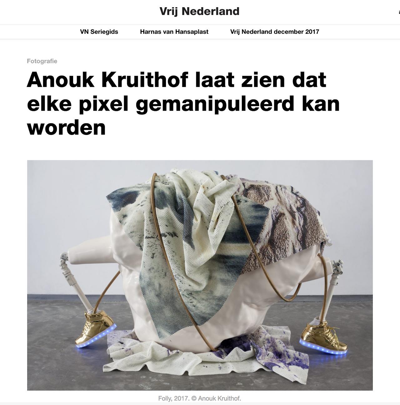 article in Vrij Nederland by Yuki Kho