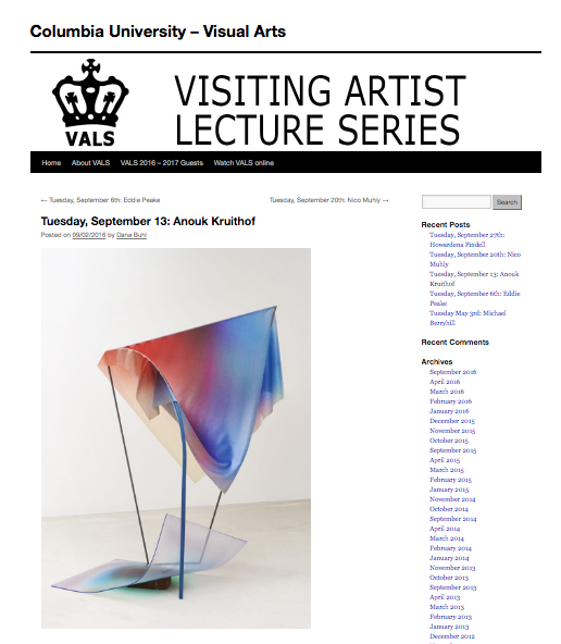 on september 13 I give a lecture at  Colombia University New York