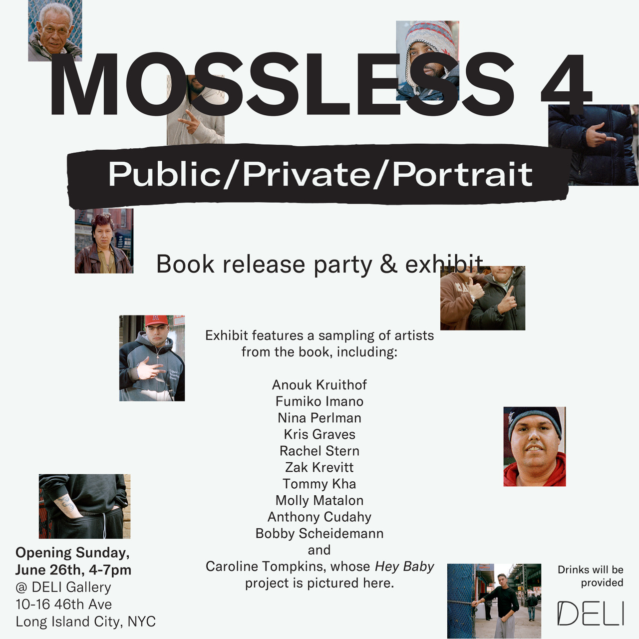 I am participating with work and an interview in Mossless 4 and also with a small work in the exhibition….   Sunday 26th, we will be celebrating the release of the book with an exhibit at  Deli Gallery  , near PS1 in New York City. Please join us! Click the flyer below to be brought to the Facebook event page.