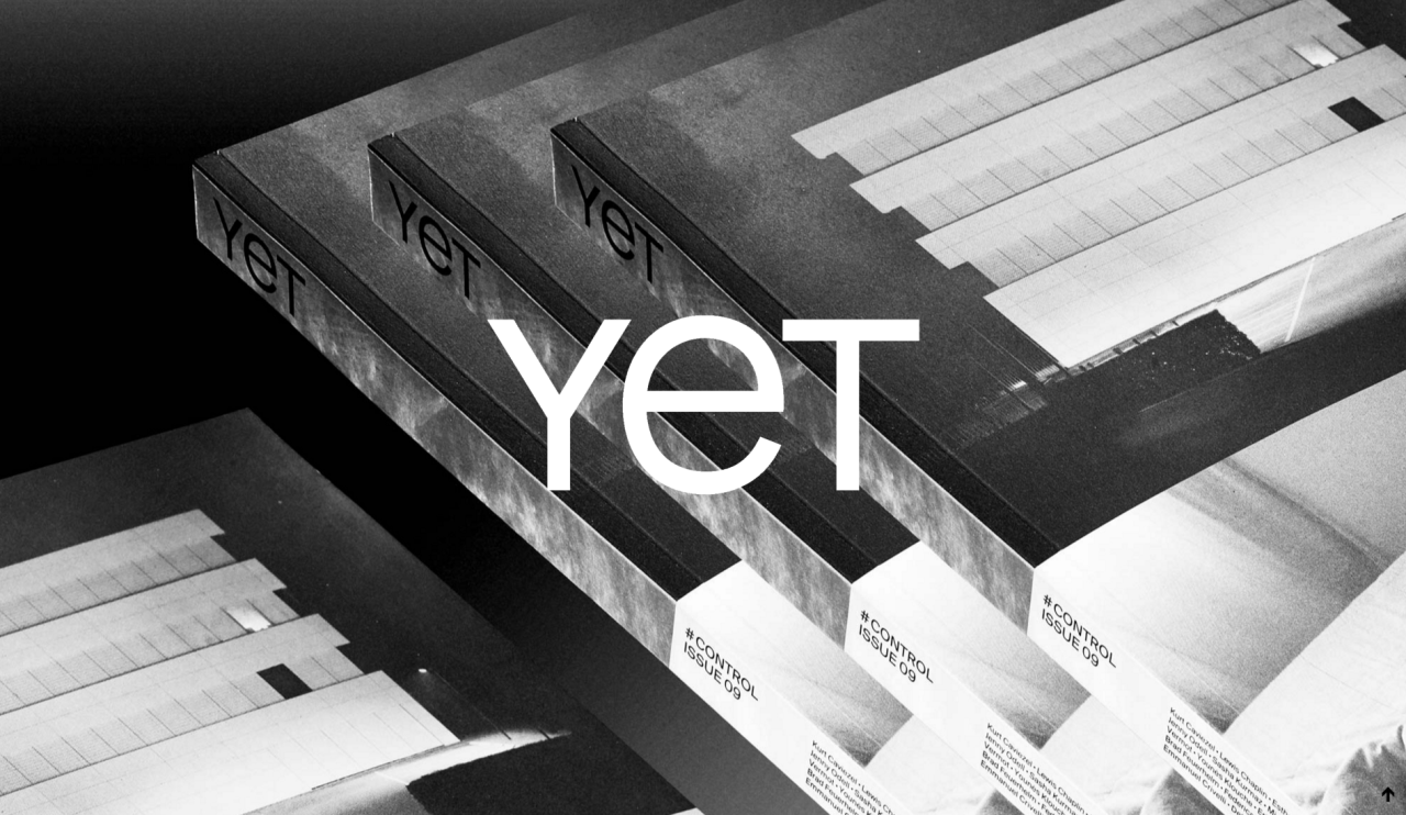 "YET magazine: Issue #9 - Control   The 9th issue of YET magazine aims to analyse the theme of ""Control"". On one side, photography has been used since its beginnings as a tool of control and supervision by government, political and military organizations.On the other side, the visual practice of photography is assessed in greater extent depending on the context of use and presentation, and most of all it is subject to dynamics of dissemination and sharing beyond its creation.    From interviews with Anouk Kruithof, to a discussion on publishers and curators' selecting process and essays by Erik Kessels and Brad Feuerhelm, ""Control"" aims to analyze the ambiguities inherent in the opposition 'control VS free circulation' of images through the works by Kurt Caviezel, Esther Hovers, Daniel Mayrit, Adrien Missika, Jenny Odell, Sasha Kurmaz, Erik van der Weijde, and many others."