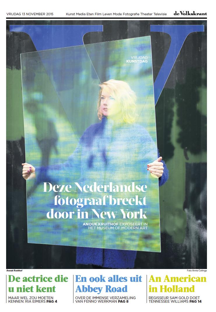 article by Anne van Driel in Volkskrant (Dutch national newspaper)