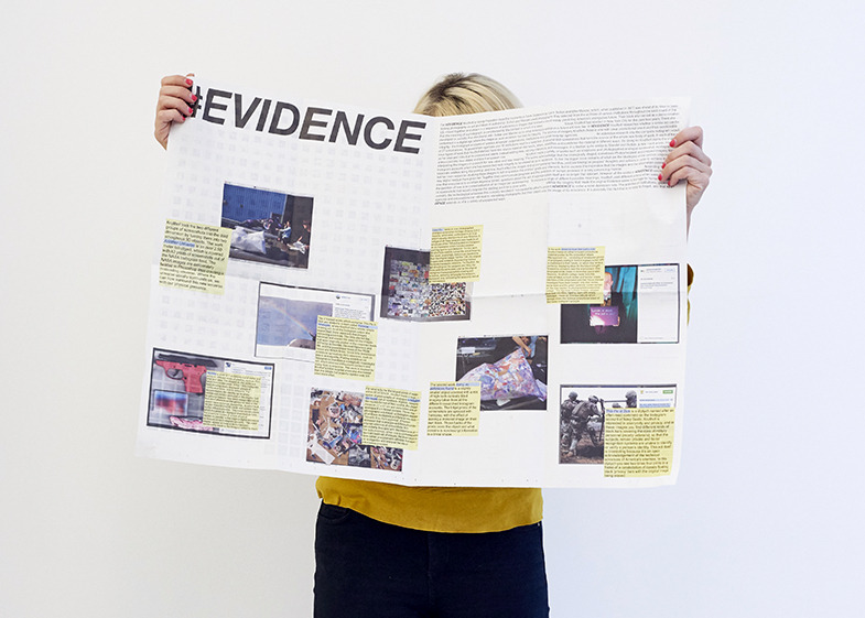 new printed matter  #EVIDENCE  available at  UNSEEN  or at  BoetzelaerINispen