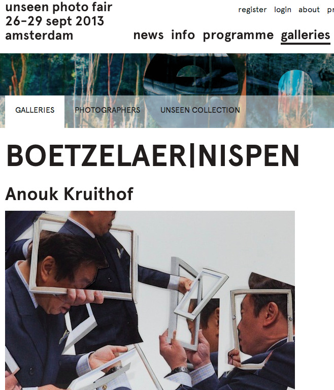 gallery BoetzelaerINispen will represent me on UNSEEN in Amsterdam:   solo exhibition    'Pixel-stress'      at UNSEEN withBoetzelaerINispen Amsterdam     opening september 25th at 6 pm   fair/exhibition till september 29th 2013    ! release new publicationPixel-stressat the  NYC artbookfair  and   UNSEEN bookmarket  published by  RVB-books