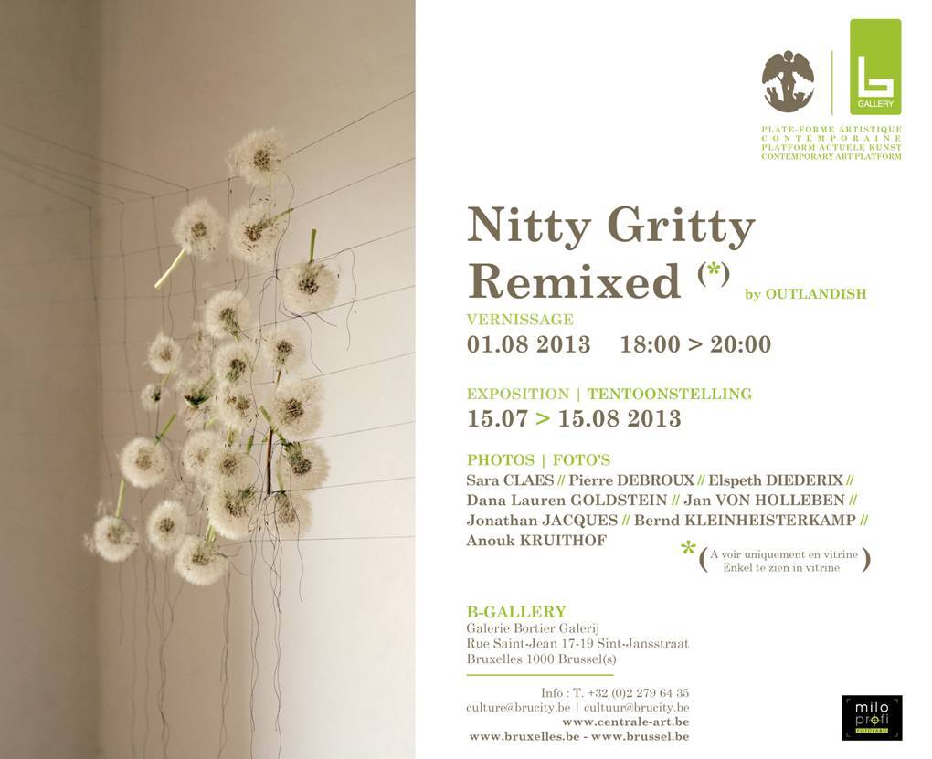 group exhibition in B-gallery Bruxelles