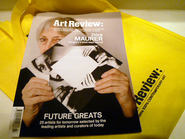 article by Jason Evans in 'the future greats' 2012 issue of Artreview: 25 artists of tomorrow selected by the leading artists and curators of today. check out the text Jason Evans wrote about my work   HERE