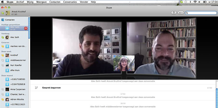 final TRIO SKYPE conversation with   Alec Soth   and   Hans Seeger   before my new little artistbook A HEAD WITH WINGS flies to the printer