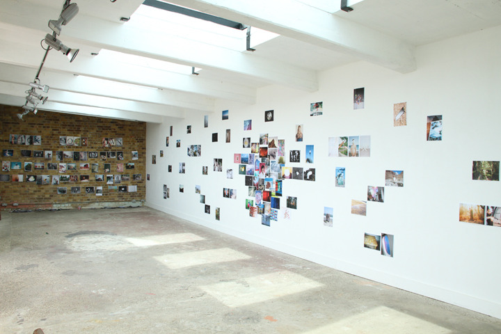 """Wandering Bears   collective from the UK organized the groupshow   'Sunny Side Up'   as part of the   Margate Photo Festival   here in the UK. Here you can read how the 3 faces behind Wandering Bears calledNik Adam, Luke Norman & Peter Haynes describe their show: """"We had a huge white wall to work with where we curated an edit of images which worked well together andtrulyreflected everything about the exhibition. At the far end was a brick wall where we invited the audience to select their favourite images from piles of photos on the floor to add to the show."""""""