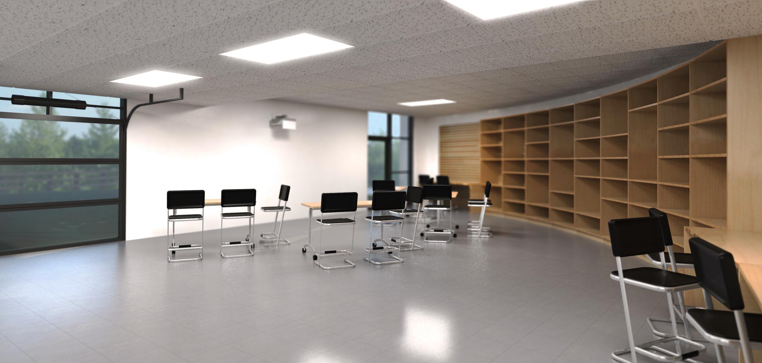 Interior Classroom Design