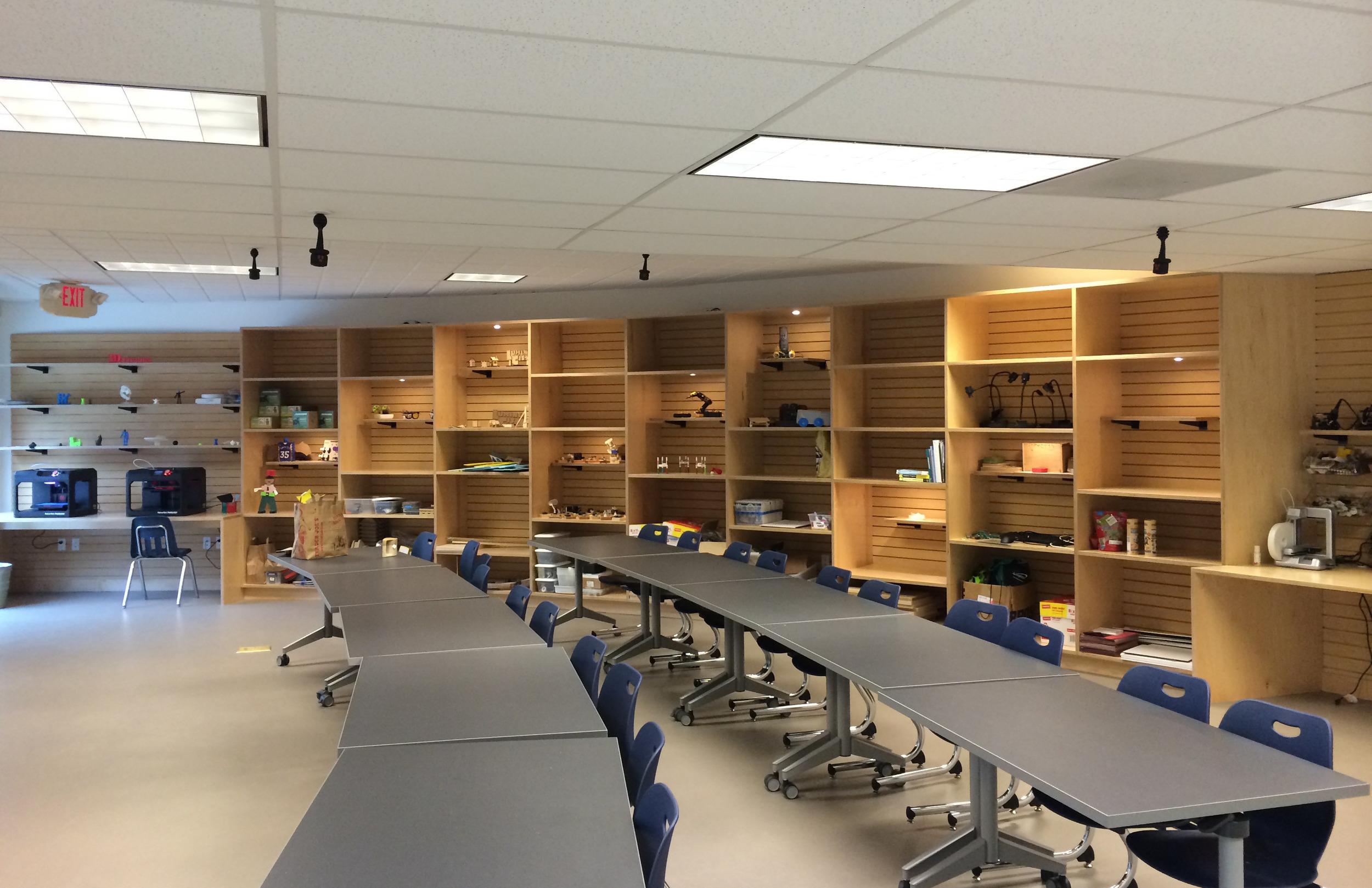 Interior Classroom Completion
