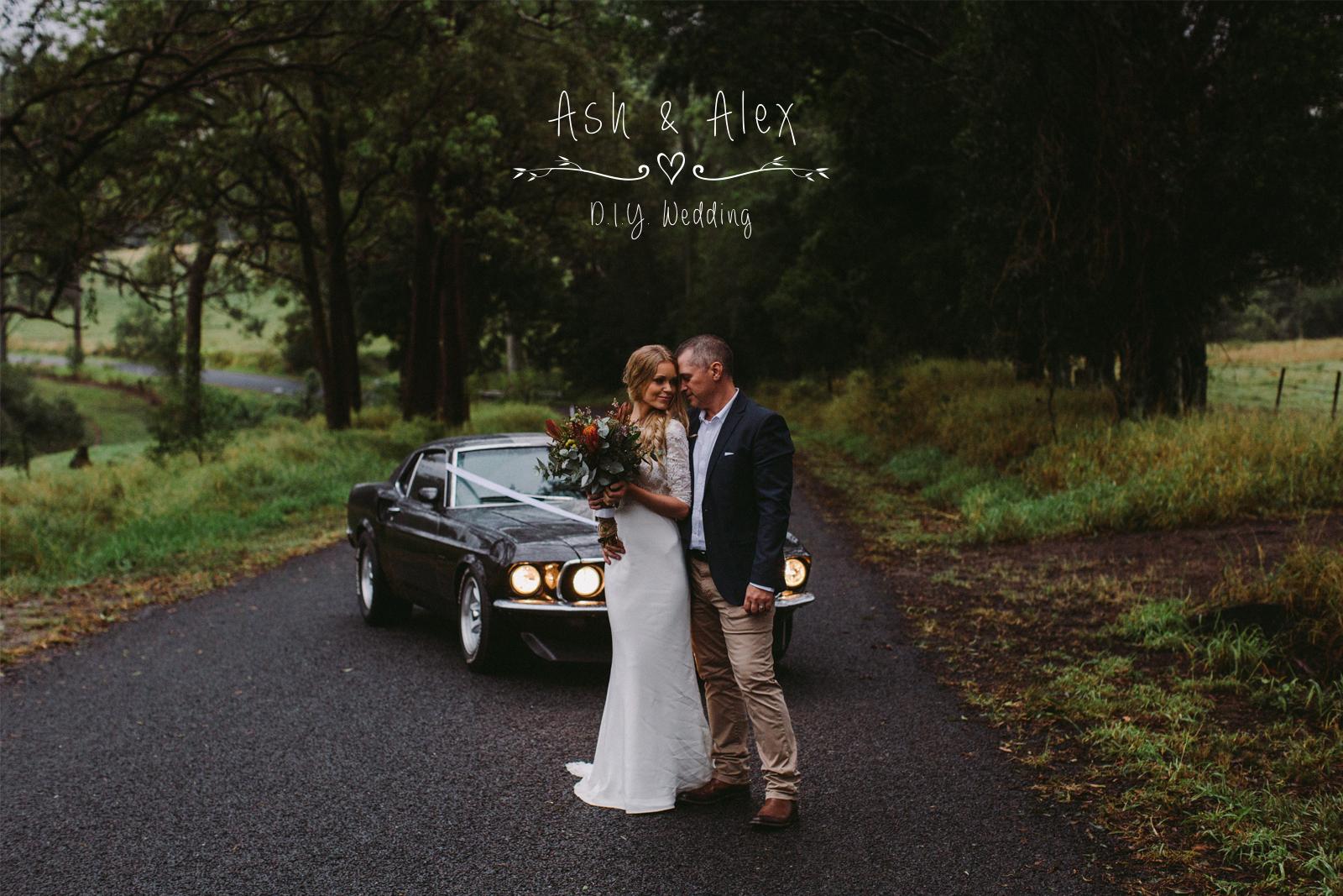 Ashley & Alex ~ Married in Mount Pleasant, Queensland