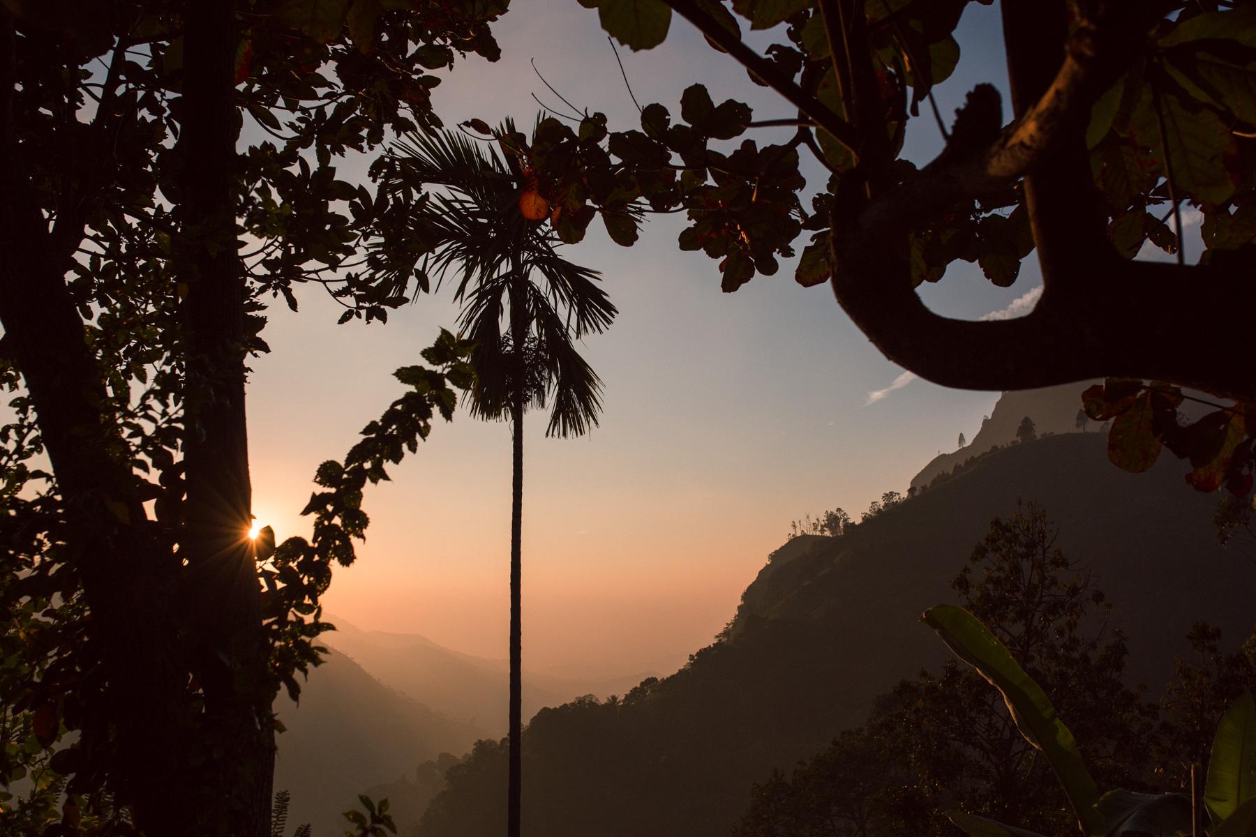 Sunrise at Ella Rock, Sri Lanka