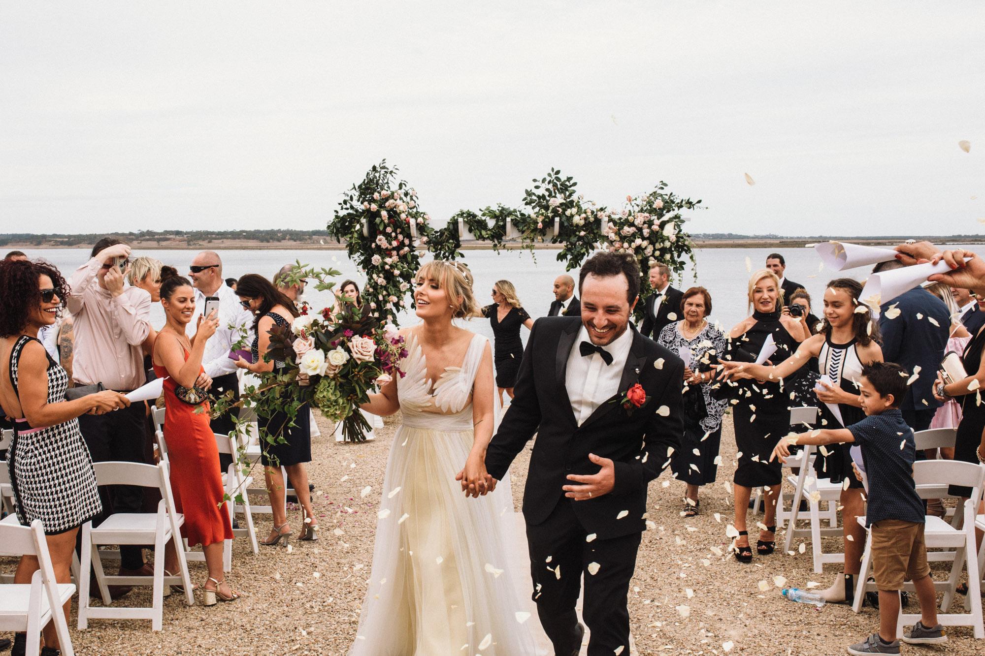 Hannah & Jason 17.03.2018, married at Campbell Point House, Bellarine Peninsula
