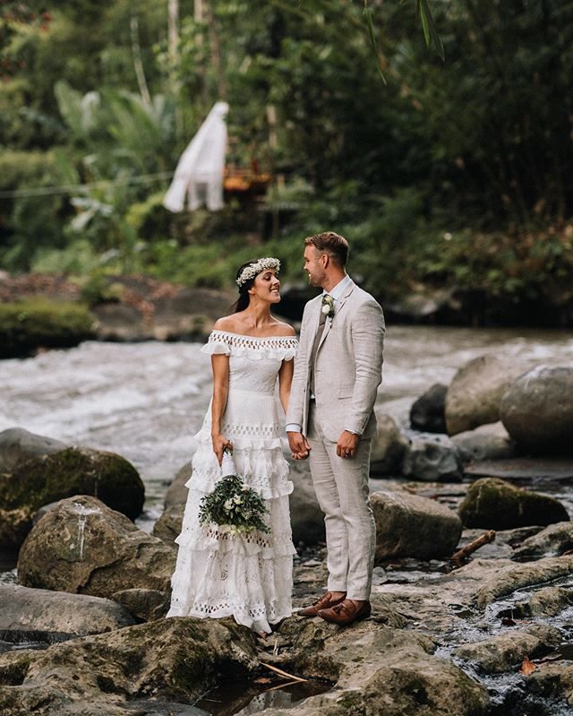 It's a yes from me if your wedding is in nature 🌴 Emma, Scott & Bali 🧡