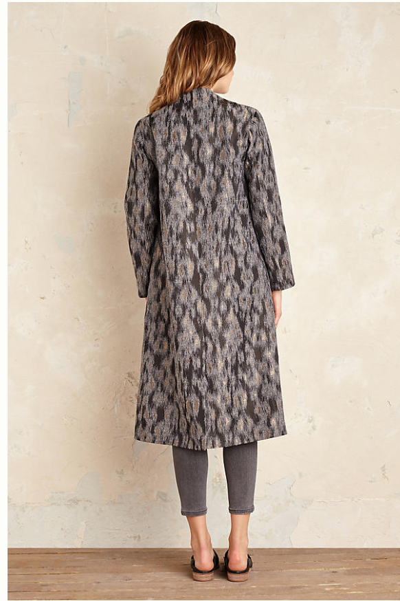 If you are lover of grey tones, this super  Cara Animal Print coat  will revive your grey tweeds and knitwear for only £93 (from £198) - is lightweight enough to wear in the spring too with creams and soft metallics and an easy throw on casually.