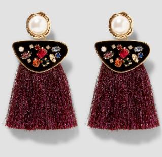 Pearl, jewels and glitter! Zara £12.00