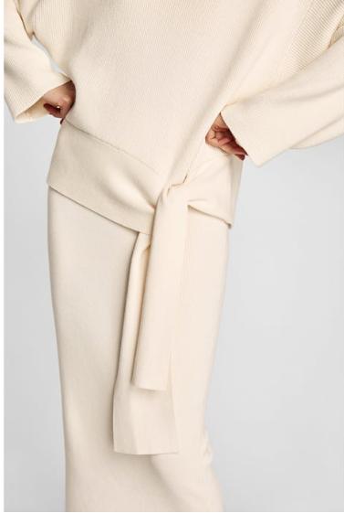 Zara Sweater £39 and Skirt combo £19.99