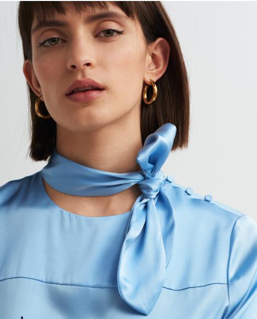 Kitri silk blouse £125