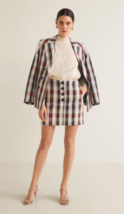 Mango Blazer £69.99 & Skirt £35.99