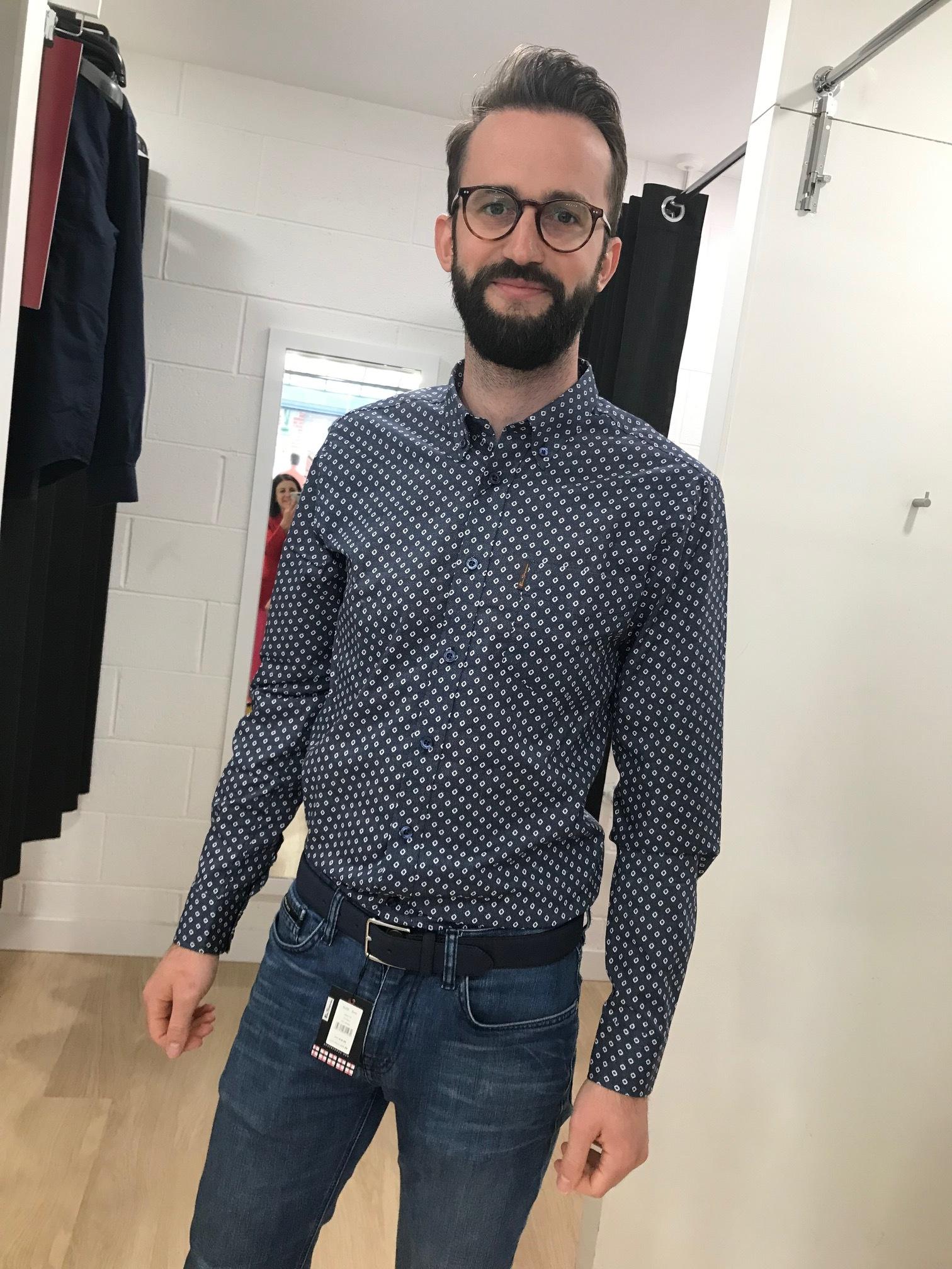 Shirt and belt Ben Sherman