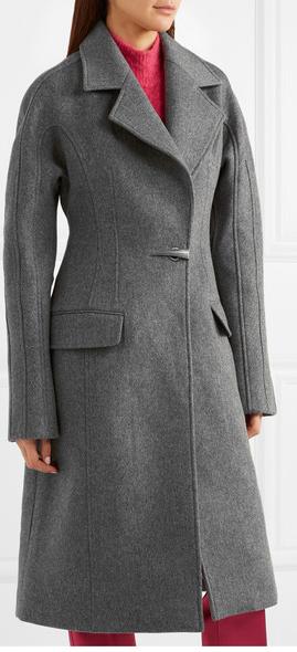 Mulger Dolmen wool -felt coat £1958.33