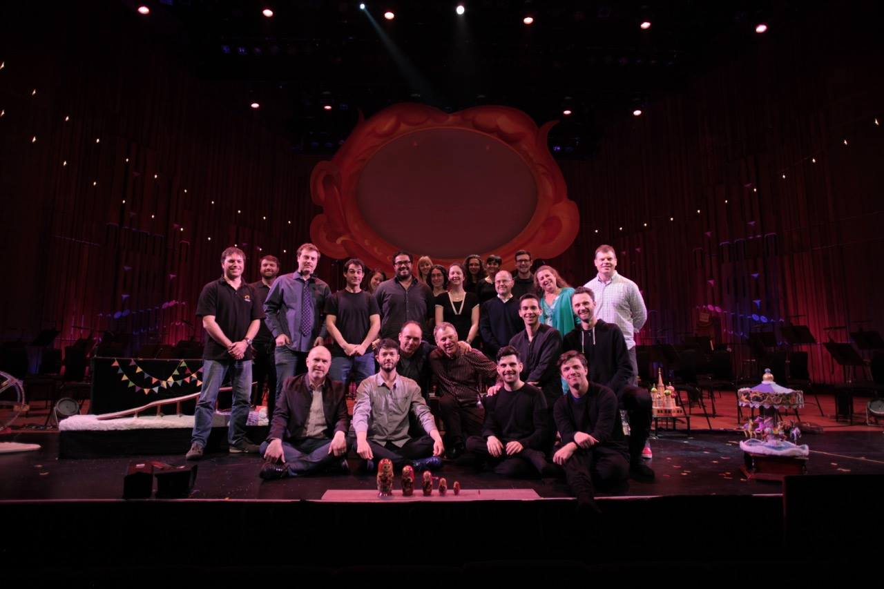 The Cast and Crew of Petrushka at The Barbican in London